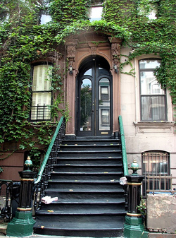 The ivy-draped Langston Hughes House | WhereTraveler