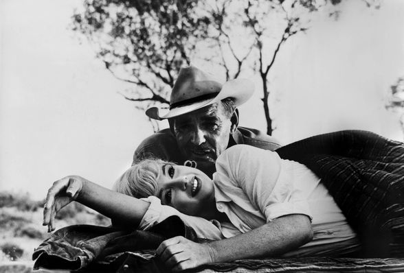 """Marilyn Monroe and Clark Gable in """"The Misfits"""" (1961) (©AF archive/Alamy)"""