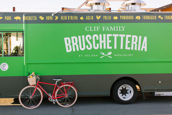 Clif Family Bruschetteria food truck