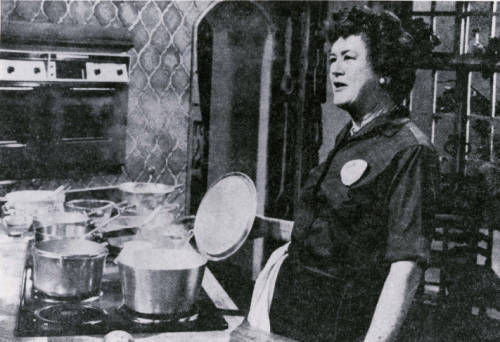 Julia child, culinary mentor of Dallas Chef Stephan Pyles