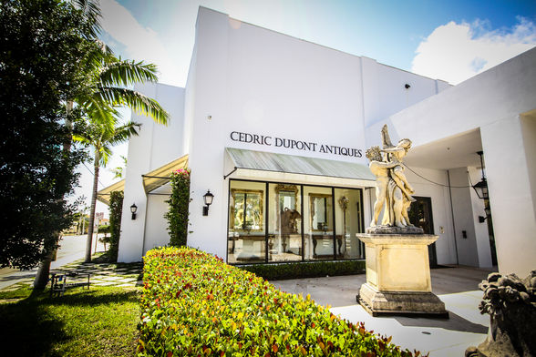 Antique Row, Cedric Dupont Antiques, West Palm Beach