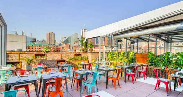 """Cantina Rooftop is offering a """"modern Mexican dining experience in the sky."""" 