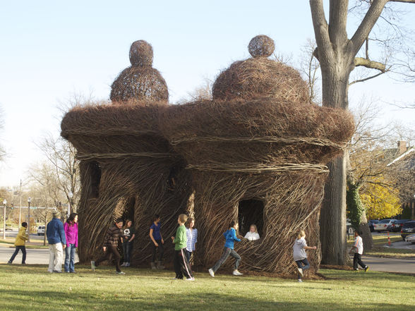 """Patrick Dougherty """"Double or Nothing"""""""