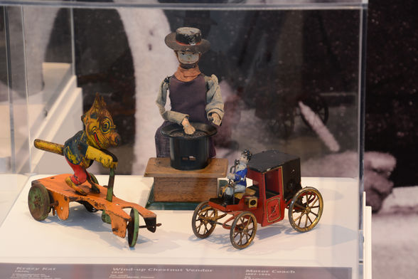 Early 20th century toys in the museum's collection