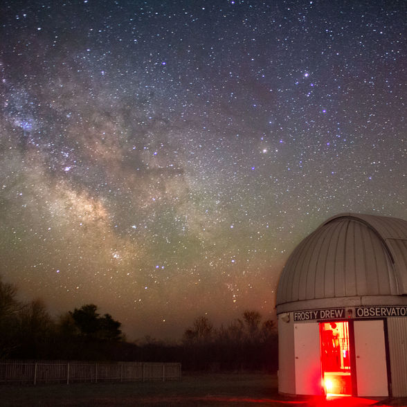 New England stargazers have been flocking to the Providence area since the late 1980s because of the Frosty Drew Observatory | WhereTraveler