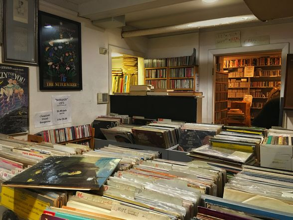 Every inch of Orpheus' floor and wall space is filled with CDs, records and sheet music alike. Don't come here if you're looking for Springsteen or The Beatles, but if you want Stravinsky and Berlioz, this is the best record store in Boston | WhereTraveler