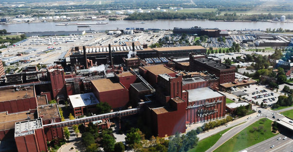 Anheuser-Busch from the air
