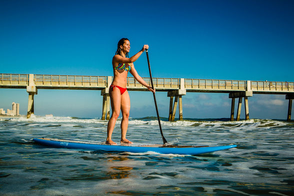 Paddle Boarding Jacksonville Beach