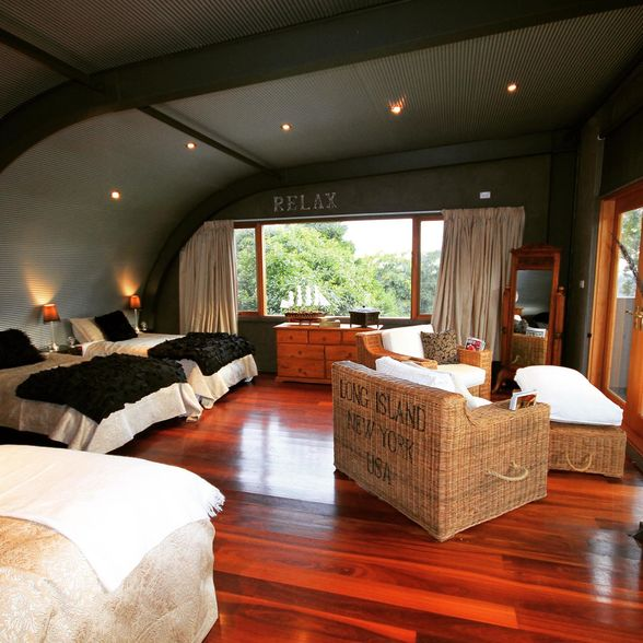 The group bedroom at Lavender Majestic