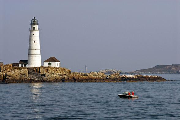 The Boston Harbor Islands National Recreation Area is made up of 34 different islands and peninsulas | WhereTraveler
