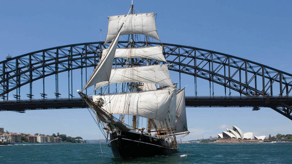 Set sail with Sydney Harbour Tall Ships