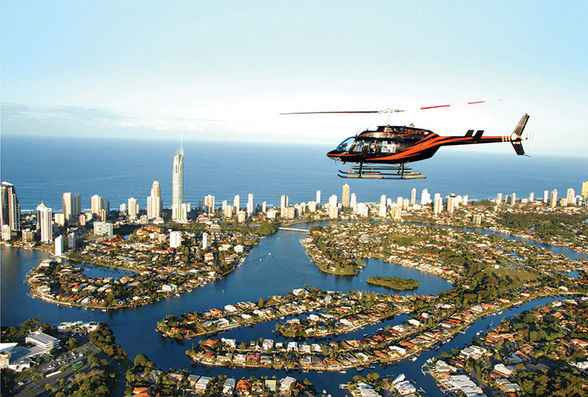 See the Gold Coast from the skies with a helicopter ride