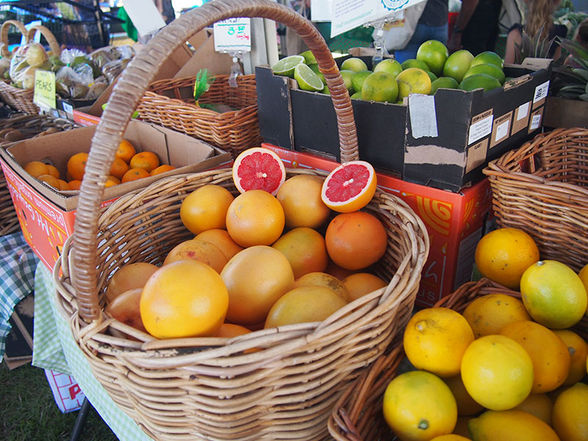 Pick up something fresh and healthy at the Organic Farmers Market, Australia