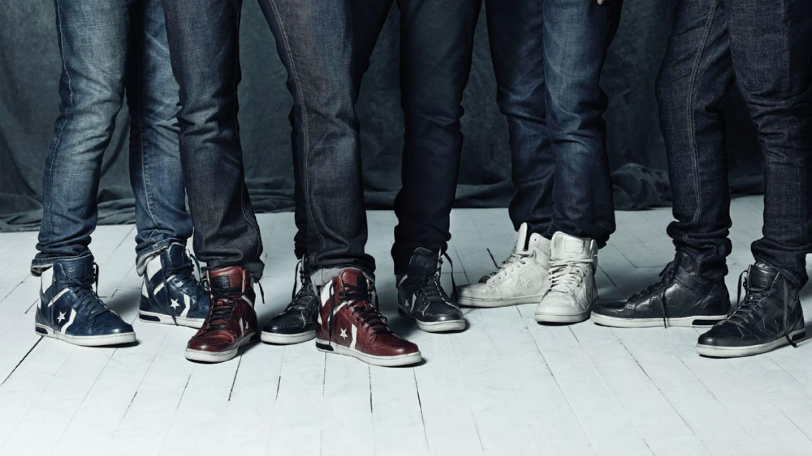 Jeans and shoes by John Varvatos
