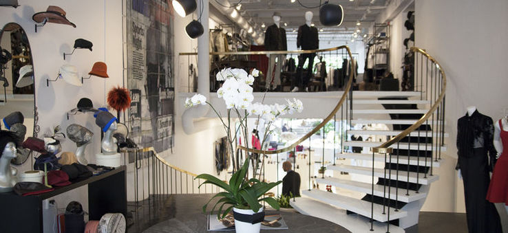 Fashionistas flock to Joan Shepp for its from-the-runway looks by designers like Rick Owens, Maison Margiela and Commes des Garcons | WhereTraveler