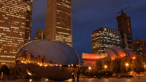 "Be the one who knows it all when you download a free audio tour about Millennium Park from the website; topics cover all the highlights including the ""Bean,"" Crown Fountain and indoor performance space Harris Theater. 