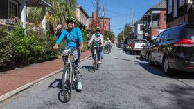 Bicycle Tours of Atlanta Bicycle Tours of Atlanta lead riders through the city's eclectic neighborhoods, including Cabbagetown.