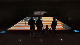 Star-Spangled Banner exhibit (Courtesy National Museum of American History)
