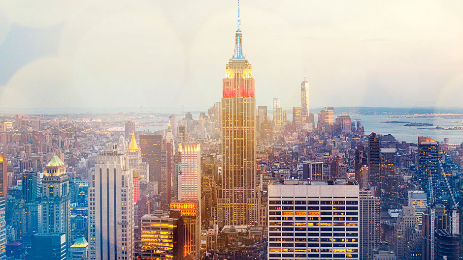 Things to do in New York - Empire State Building at dusk