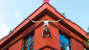 The historic Buckhorn Saloon & Museum in downtown San Antonio