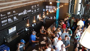 Inside Five Boroughs Brewing Co.