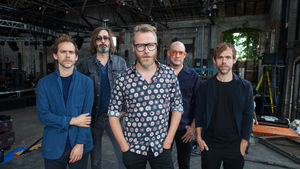 Aaron Dessner with The National